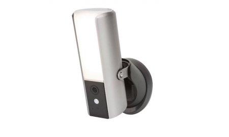 SecuFirst LCA230 LED buitenlamp met Full HD IP camera met app, IR nachtzicht, audio, PIR bewegingsdetectie, microSD slot, WiFi of bedraad