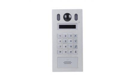X-Security XS-V6221E-IP IP appartement video intercom buiten station (netwerkkabel aansluiting) met display, PoE, keypad en Mifare kaartlezer