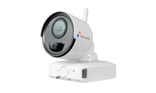 Nivian NV-IPB020A-2-BAT accu IP camera voor uitbreiding van de NV-KIT61-4C2M-BAT set
