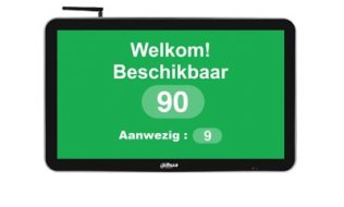Dahua LDH22-SAI200 22'' WiFi 16:9 Digital Signage monitor met COVID-19 People Counting flow control app