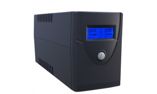 Safire UPS600VA-2 UPS Uninterruptible Power Supply backup accu 230Vac 600VA 360Watt