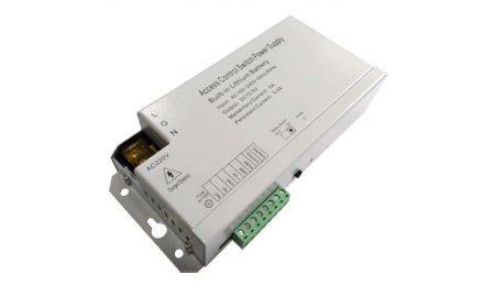 WL4 PA-AC-12VDC3A-BAT voeding adapter voor toegangscontrole en intercom met ingebouwde backup accu