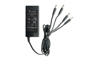 WL4 PA-12-5000-4 12V/5A Universele voeding adapter met 4 uitgangen