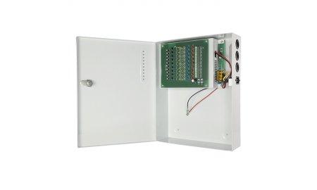 WL4 PS120-9-UPS Voedingskast 9 kanaals 12VDC 10A 120Watt met UPS functie
