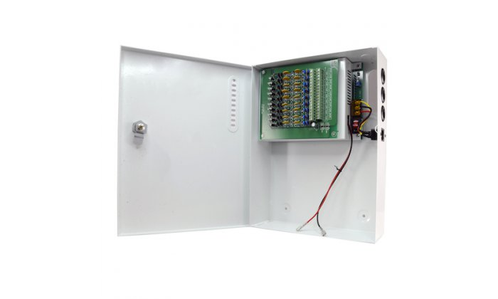 WL4 PS240-18-UPS Power supply distribution box 18 outputs 12VDC 20A 240Watt  with UPS function