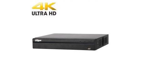 Dahua NVR4104HS-P-4KS2 4 kanaals PoE HD Netwerk Video Recorder met 1TB harde schijf