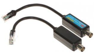 WL4 EOC-EPOE EoC passieve converter voor Dahua ePOE IP over analoge coax kabel in set van 2 stuks