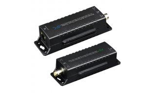 WL4 POE-EOC-1 passieve EoC converter set voor IP over analoge coax kabel met PoE