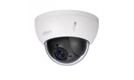Dahua SD22204T-GN OEM Full HD 2MP mini buiten PTZ dome camera met 4x zoom, 120dB WDR en SD slot
