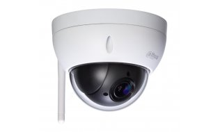 Dahua SD22204T-GN-W Full HD 2MP mini buiten WiFi PTZ dome camera met 4x zoom, 120dB WDR en SD slot