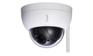 Dahua SD22404T-GN-W OEM Full HD 4MP mini buiten WiFi PTZ dome camera met 4x zoom, 120dB WDR en SD slot