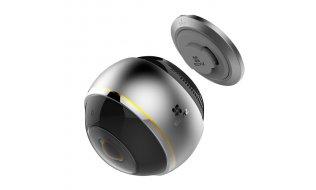 EZVIZ Hikvision C6P ez360 Pano 360 graden fish eye binnen camera met nachtzicht, audio, microSD slot