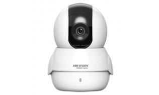 Hikvision HWC-P120-D/W HiWatch Full HD 2MP WiFi Pan Tilt camera met IR nachtzicht, microSD en 2-weg audio