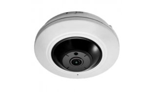 Safire SF-IPDM360W-5 Full HD 5MP binnen fisheye 360 graden camera met IR nachtzicht, ePTZ, PoE en microSD opname