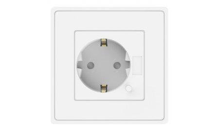 Nivian  NVS-WALLSOCKETF-W Smart WiFi inbouw wandcontactdoos voor schakelen met app