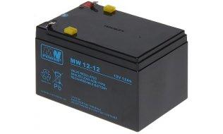 WL4 SB-12-120 12VDC 12Ah voor bijvoorbeeld een zonnepaneel, alarm, UPS of toegangscontrole installatie