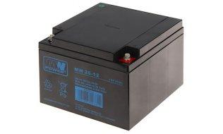 WL4 SB-12-260 accu 12VDC 16 Ah voor bijvoorbeeld een zonnepaneel, alarm, UPS of toegangscontrole installatie