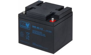 WL4 SB-12-400 12VDC 40Ah voor bijvoorbeeld een zonnepaneel, alarm, UPS of toegangscontrole installatie