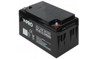 WL4 SB-12-650 accu 12VDC 65Ah voor bijvoorbeeld een zonnepaneel, alarm, UPS of toegangscontrole installatie