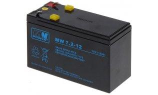 WL4 SB-12-72 accu 12VDC 7,2Ah voor bijvoorbeeld een zonnepaneel, alarm, UPS of toegangscontrole installatie