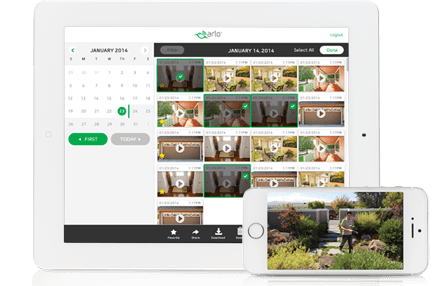 Netgear Arlo iOS Android app