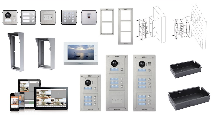 Dahua IP Video intercom module systeem